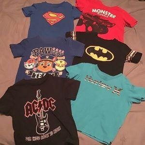 Boy's T-shirt Lot Size 2-3
